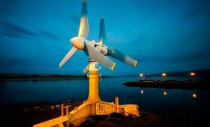 Tidal power is making waves in 2012