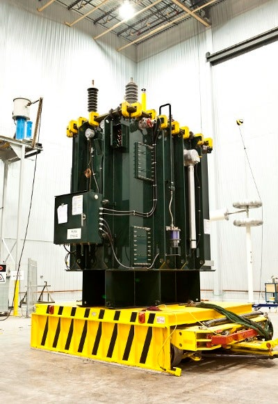 Alstom's St-Jean-sur-Richelieu facility designs, manufactures, assembles and services a range of transformers