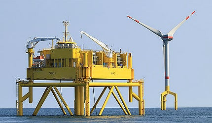 BARD Offshore I Wind Farm, North Sea