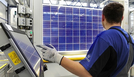 European and US solar panel manufacturers say they can't compete with China