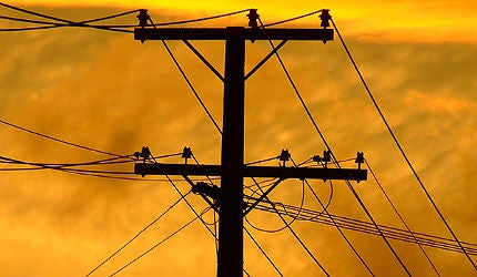 Power output from Dabhol has been affected by supply problems