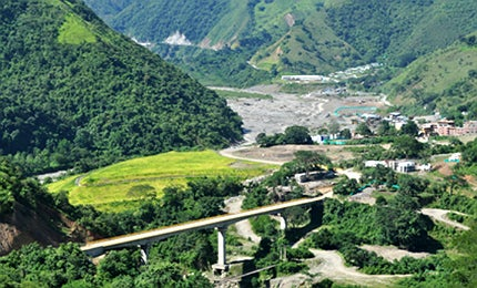 The project is located in the northwestern region of Antioquia