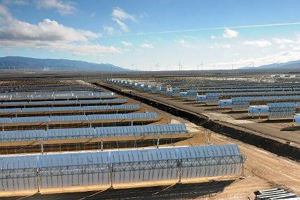 Andasol solar power plant
