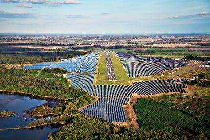 Neuhardenberg solar park