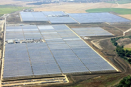 Solnova solar power station