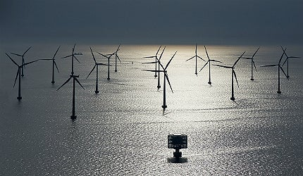 Offshore wind farm construction is picking up momentum in countries around the windy North Sea