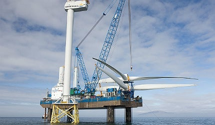 Speeding up the planning system for offshore wind projects is a key priority