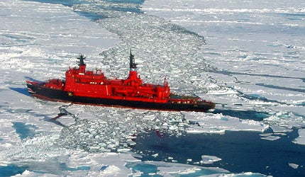 Russia's icebreakers are playing an important role