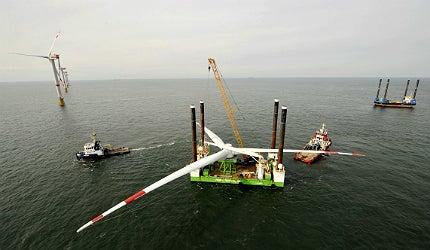 Belgium's first offshore wind farm