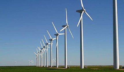 Barack Obama is waving the flag for renewables