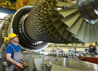 Siemens To Supply Components For 4gw Saudi Power Plant