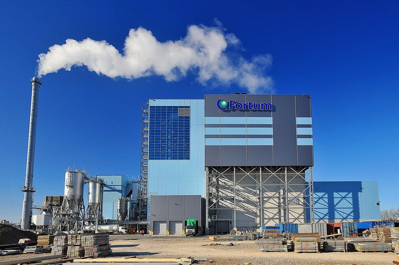 Fortum CHP plant