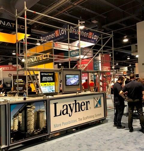 layher conexpo stall
