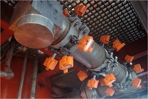 sensors can be installed in arrays to enable detection of localised corrosion attack.