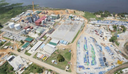 Azito power plant