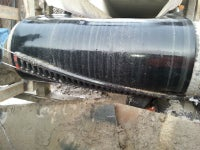 CleanScrape forms a three-dimensional curve beneath  the discharge area that conforms to the pulley's shape.