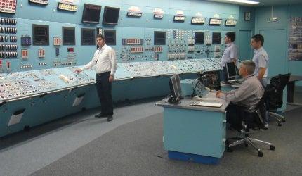 Cernavodă nuclear power plant simulator
