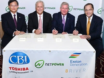 NET Power signing