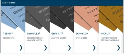 Gasket sheet