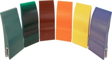 Replacement belt cleaner blades