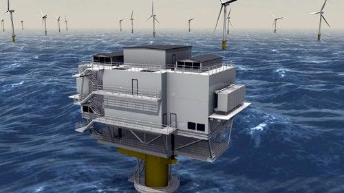 Sheringham Shoal offshore wind farm