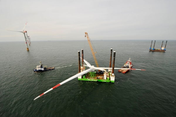 Thornton Bank offshore wind farm