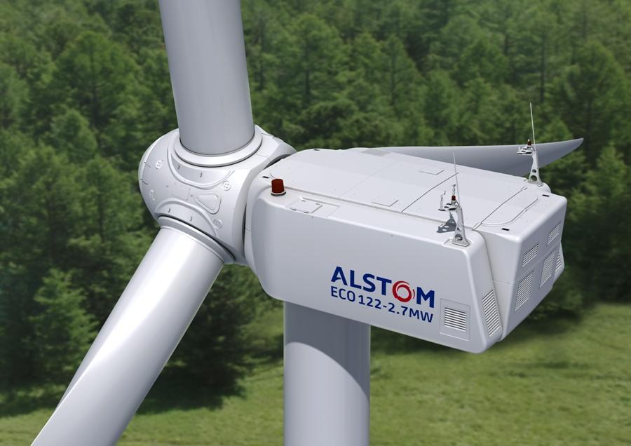 Alstom ECO 122 Wind onshore turbine