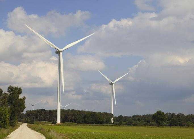 Alstom wind turbine in France