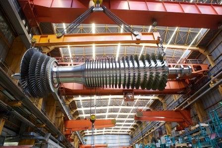 Alstom gas turbine