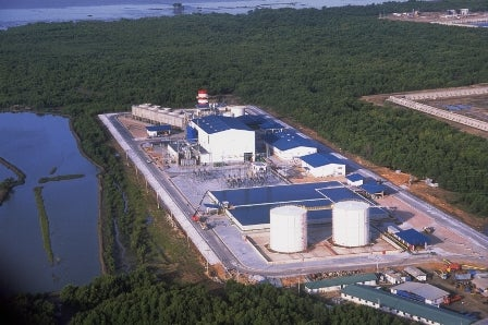 Bang Bo gas-fired power plant in Thailand