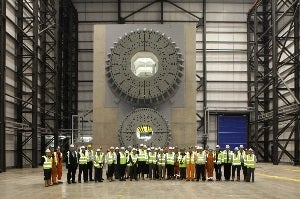 Blade Test Facility at the National Renewable Energy Centre (Narec)