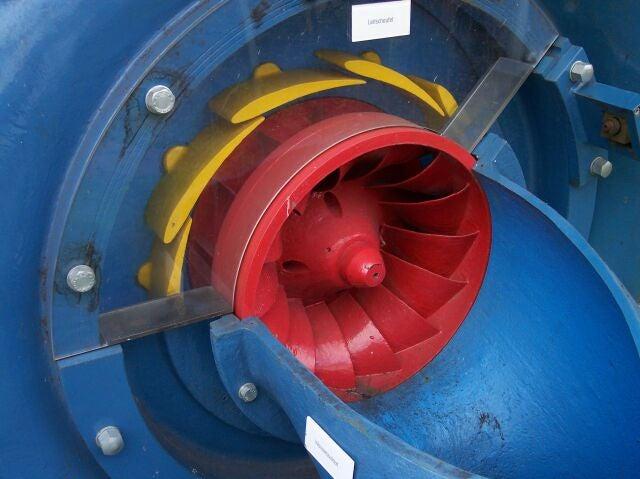 Francis Turbine Low flow