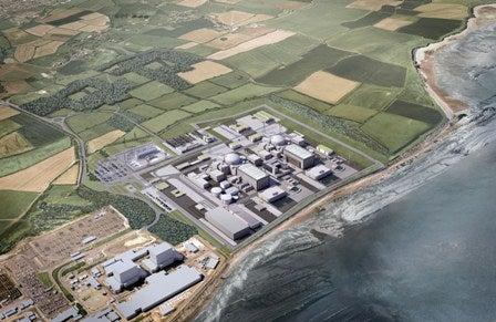 Hinkley Point C nuclear power plant