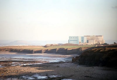 Hinkley Point Nuclear plant