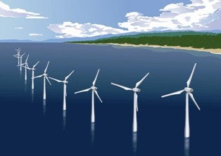 Wind farms - offshore Japan