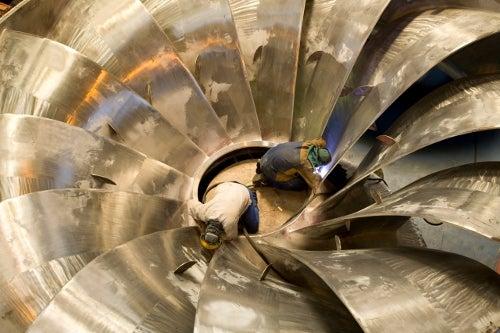 Alstom turbine