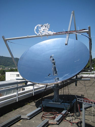 High concentration photovoltaic thermal system