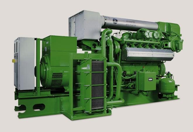 GE's Jenbacher engine technology