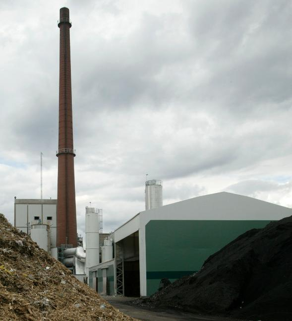 bio-oil plant