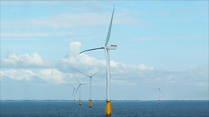 Lincs offshore wind farm