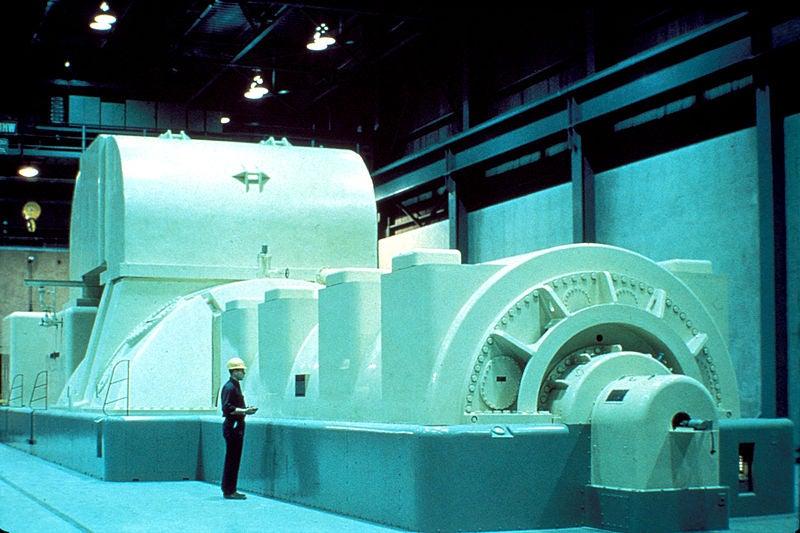 Modern Steam Turbine Generator