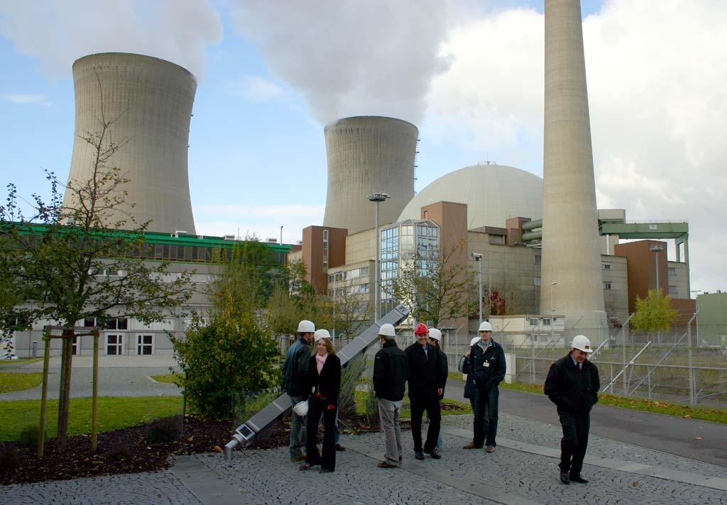 Nuclear plant at Grafenrheinfeld