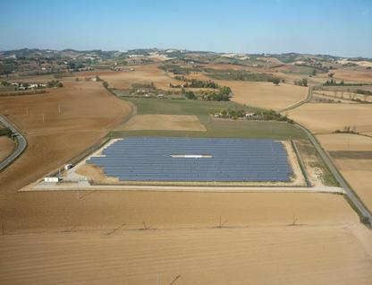 Piemonte solar power plant
