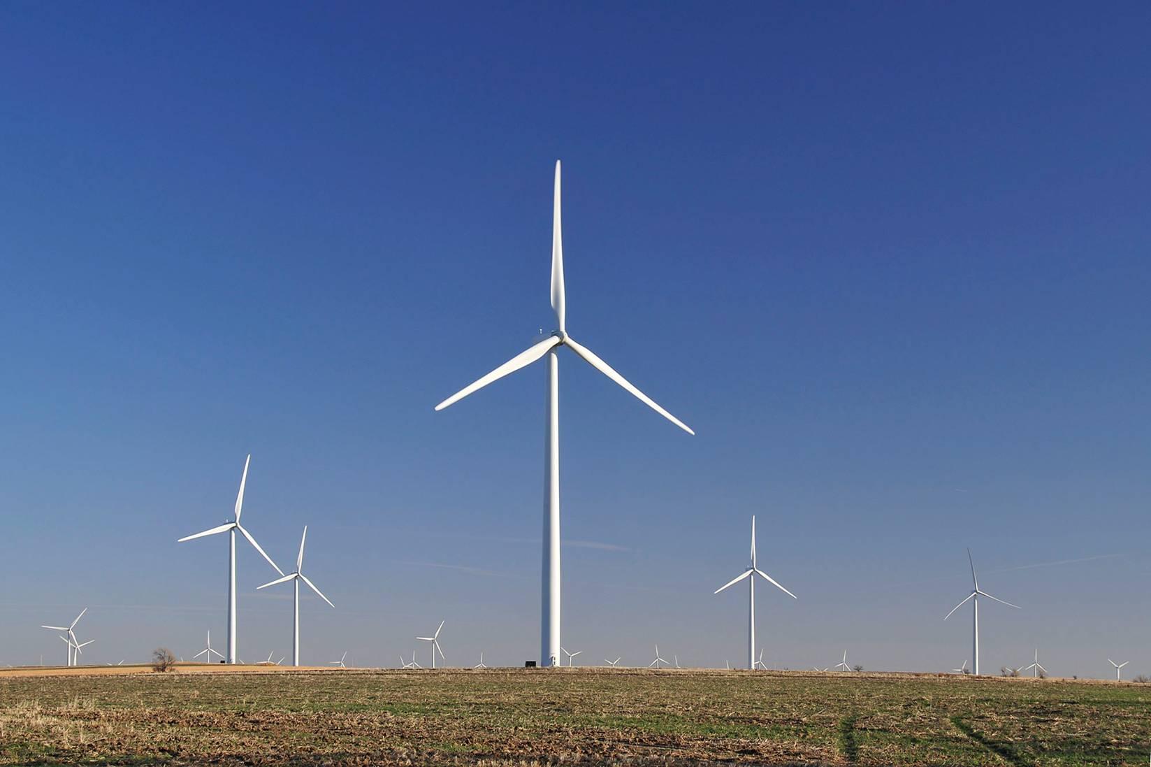 Post Rock wind farm