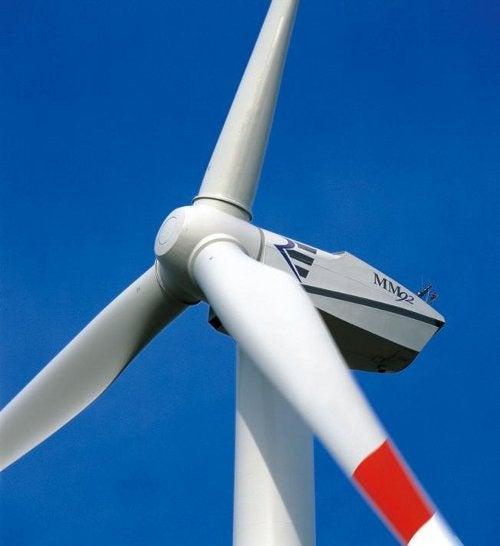 REpower MM92 wind turbine