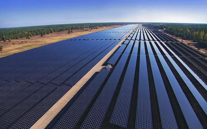 Templin solar power plant