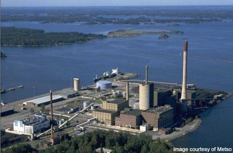 Vaskiluodon's biogasification plant in Finland