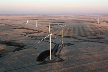 Blackspring Ridge wind project