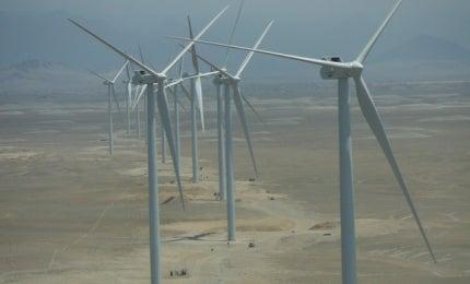Peru wind farms