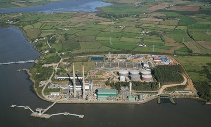 Great Island Combined Cycle Gas Turbine Power Plant